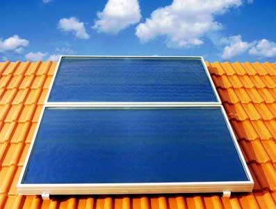 Solare termico cos 39 come fatto applicazioni e for Una storia passiva piani di casa solare